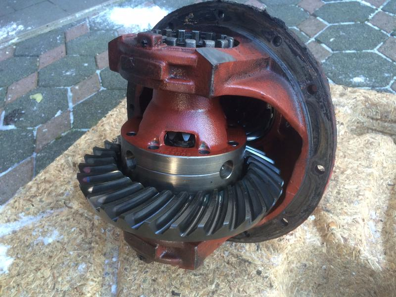 Case IH Differential Vorderachse APL 3052, IHC 955