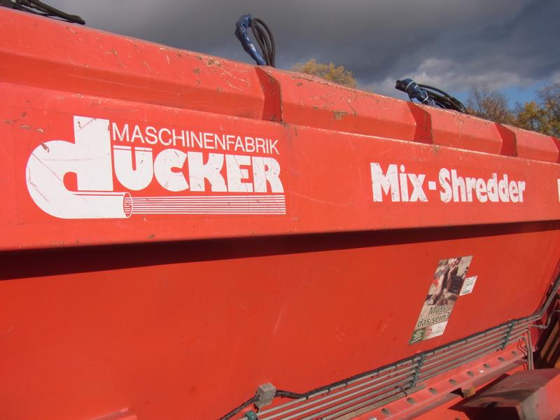 Dücker DMS 500 SL Mix Schredder + Kran