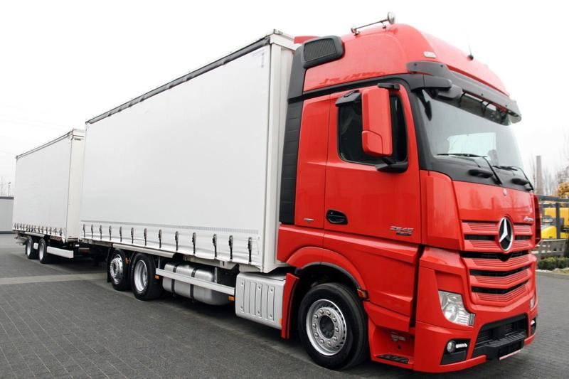 Mercedes-Benz VEHICULAR SET JUMBO ACTROS 2545 L MEGA LOW DECK