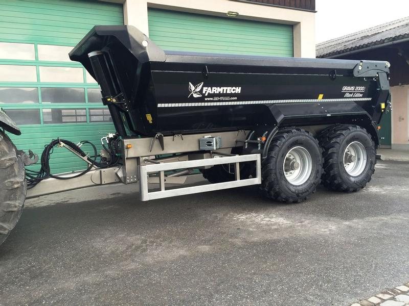 Farmtech Gravis 2000 Black Edition Muldenkipper HP20!!