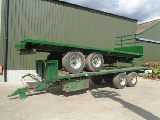 Used Baliey 24 foot Bale Trailers