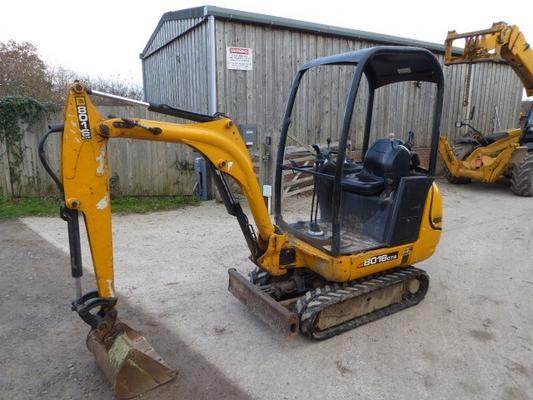 JCB  8016CTS TRACKED DIGGER