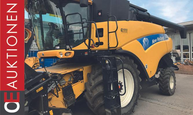 New Holland AUKTION CR 9080