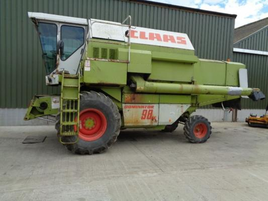 Claas Used  Dominator 98SE combine