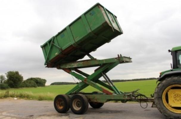 BRIAN LEGG 8 TON HIGH TIP TRAILER