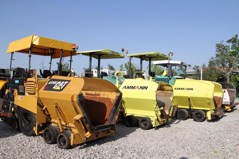 Ammann ASPHALT PAVER MANY MODELS, MANY UNITS!