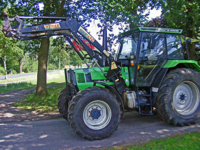 Deutz fahr frontlader traktoren gebraucht traktorpool at