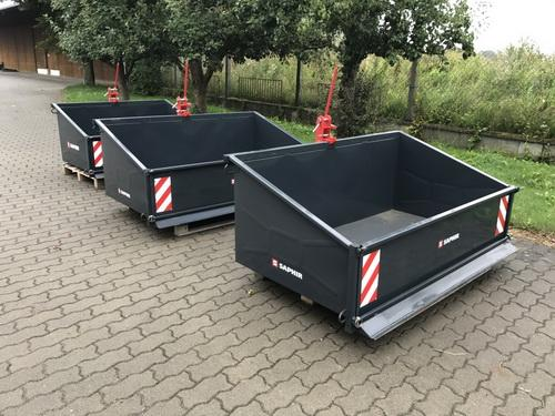 Saphir TL 150 TL 180 Heckcontainer