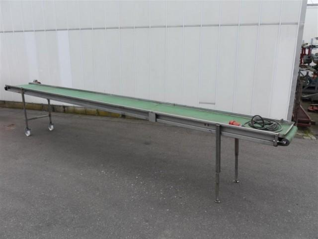 Rvs transportband 560 x 50 cm Duijndam Machines