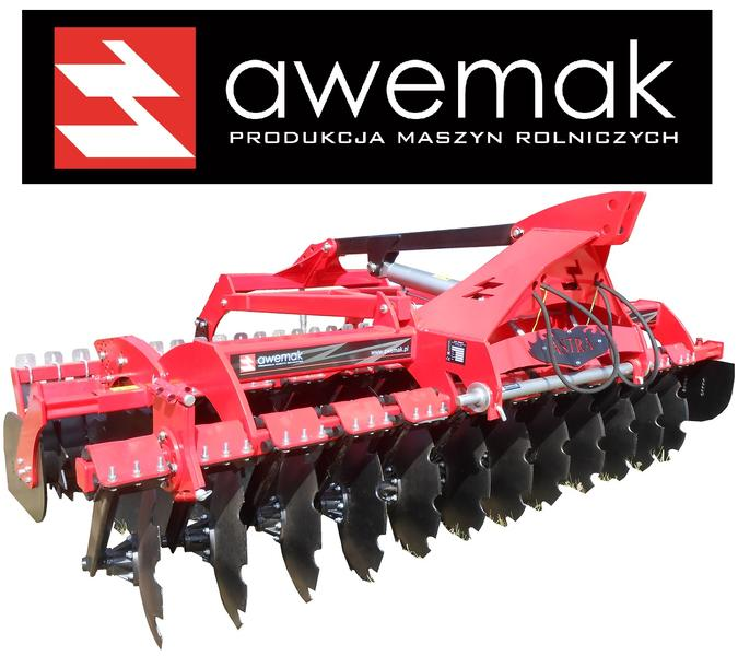 Awemak Disc harrow with hydrolift BEST QUALITY! CHEAP!