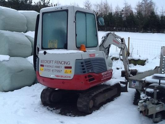 Other TAKEUCHI TB228 MINI EXCAVATOR