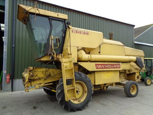 New Holland Used  8060 Combine