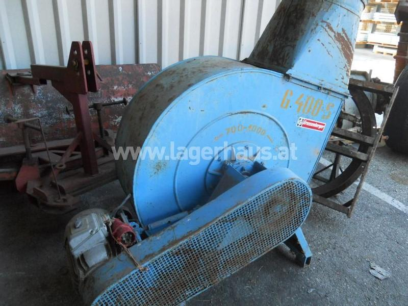 GROSSENBERGER G 400 S MIT 10 PS MOTOR