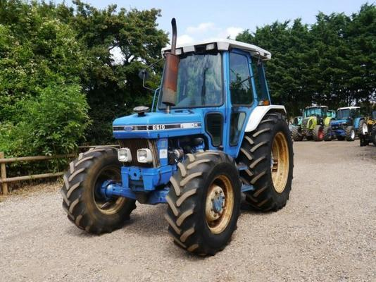 Ford 6610 4wd Tractor