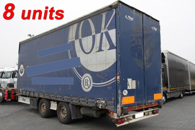 Fliegl JUMBO TARPAULIN TRAILER TPS 180 MEGA LOW DECK