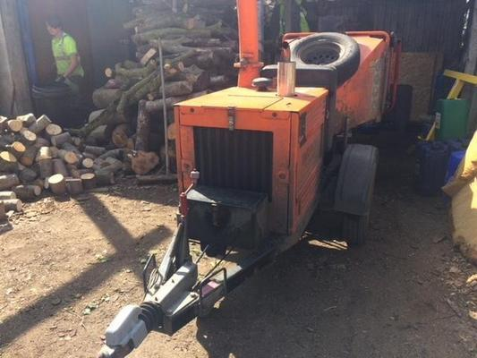 T2020159 - Timberwolf TW150 DHB Woodchipper