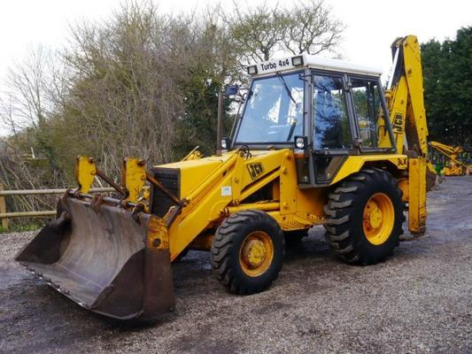 JCB  Sitemaster 3CX-4 Backhoe Loader