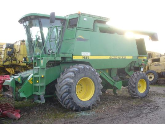 John Deere PIECES MOISSONNEUSE BATTEUSE CTS