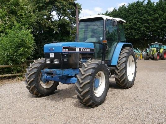 Ford 7840 SL Dual Power Tractor