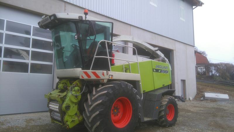 Claas Jaguar 900 SpeedstarAllrad