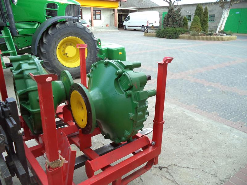 John Deere Zwolnica, Wariator,  Achse  CTS STS