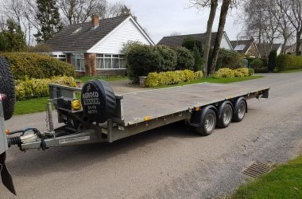 Ifor Williams 2017  18' 3 AXLE 3.5T TRAILER